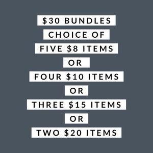 $30 Bundles - Build Your Own!